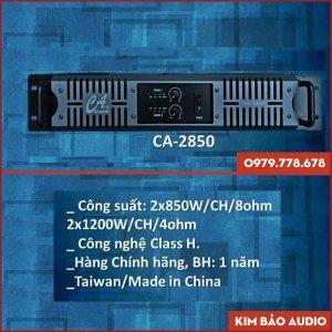 Main Công Suất CA 2850