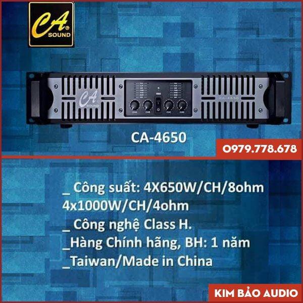 Main Công Suất CA 4650