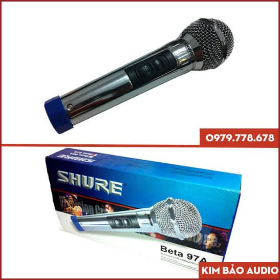 Micro Shure Beta 97A có dây
