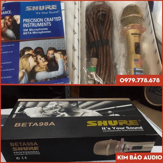 Micro SHURE BETA 98A