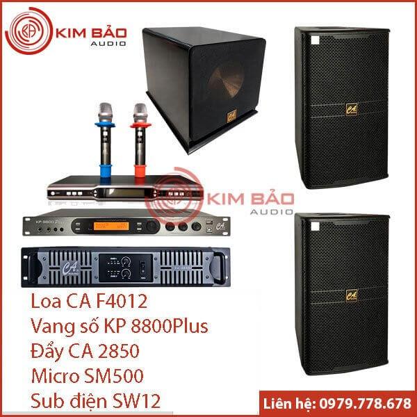 Bộ dàn Karaoke gia đình cao cấp M002
