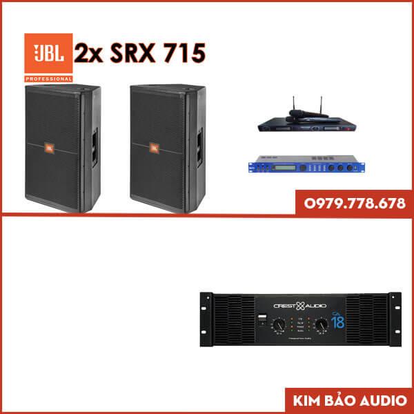 Bộ dàn Karaoke gia đình JBL SRX-715