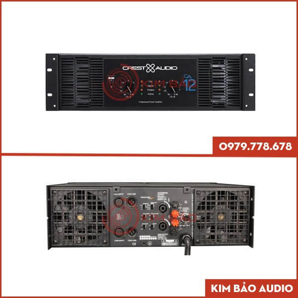 Cục đẩy công suất Crest Audio CA12