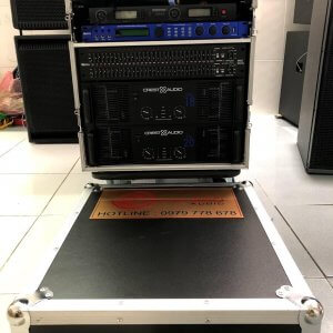 Tủ Rack U12 đã gắn thiết bị