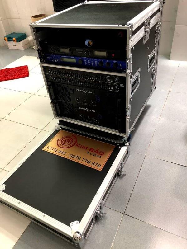 Tủ Rack U12 full thiết bị bên trong