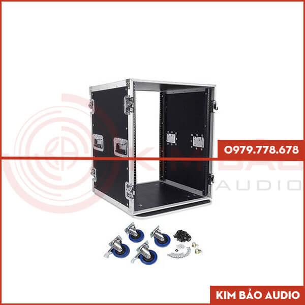 Giá tủ rack 16U - Tủ đựng thiết bị âm thanh giá tốt