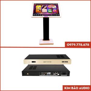 Đầu Karaoke Okara M10i và màng hình cảm ứng