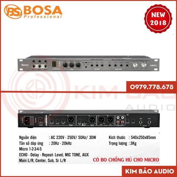 Vang cơ Bosa KMF5 giá tốt