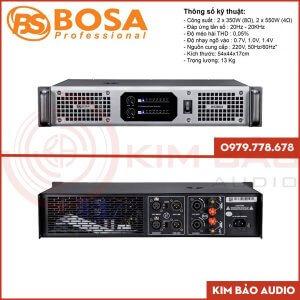 Main Bosa XS350 – Main 2 kênh