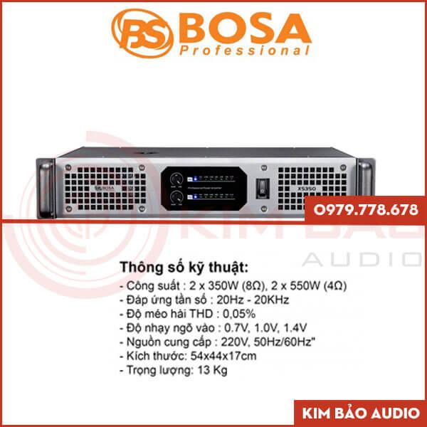 Main Bosa XS350 – Main 2 kênh | Main chính hãng