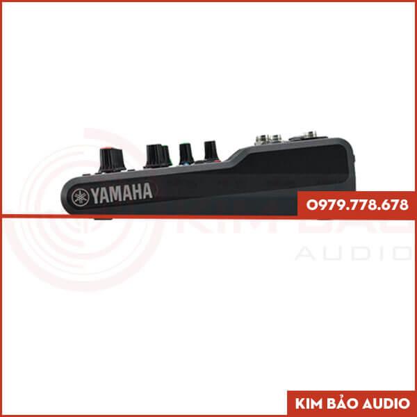 Mixer Yamaha MG06X Mặt bên (Bàn Mixer Mini)