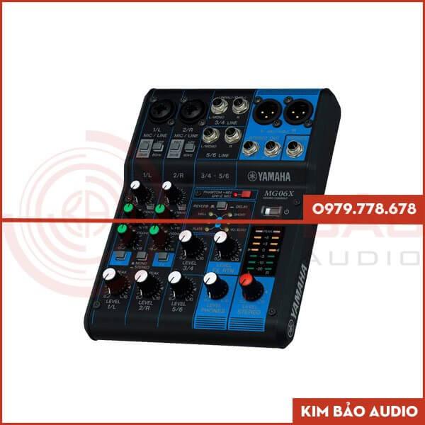 Mixer Yamaha MG06X (Bàn Mixer Mini)