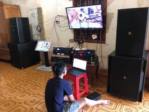 Lắp đặt Dàn âm thanh hát với nhau tại nhà