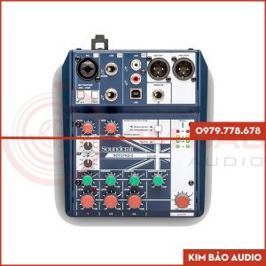 Mixer Soundcraft Notepad 5 Mixer Mini