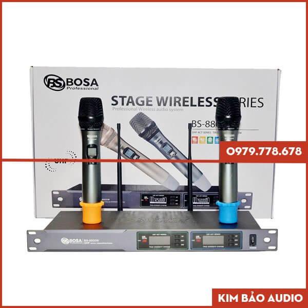 Micro không dây Bosa BS 8800W