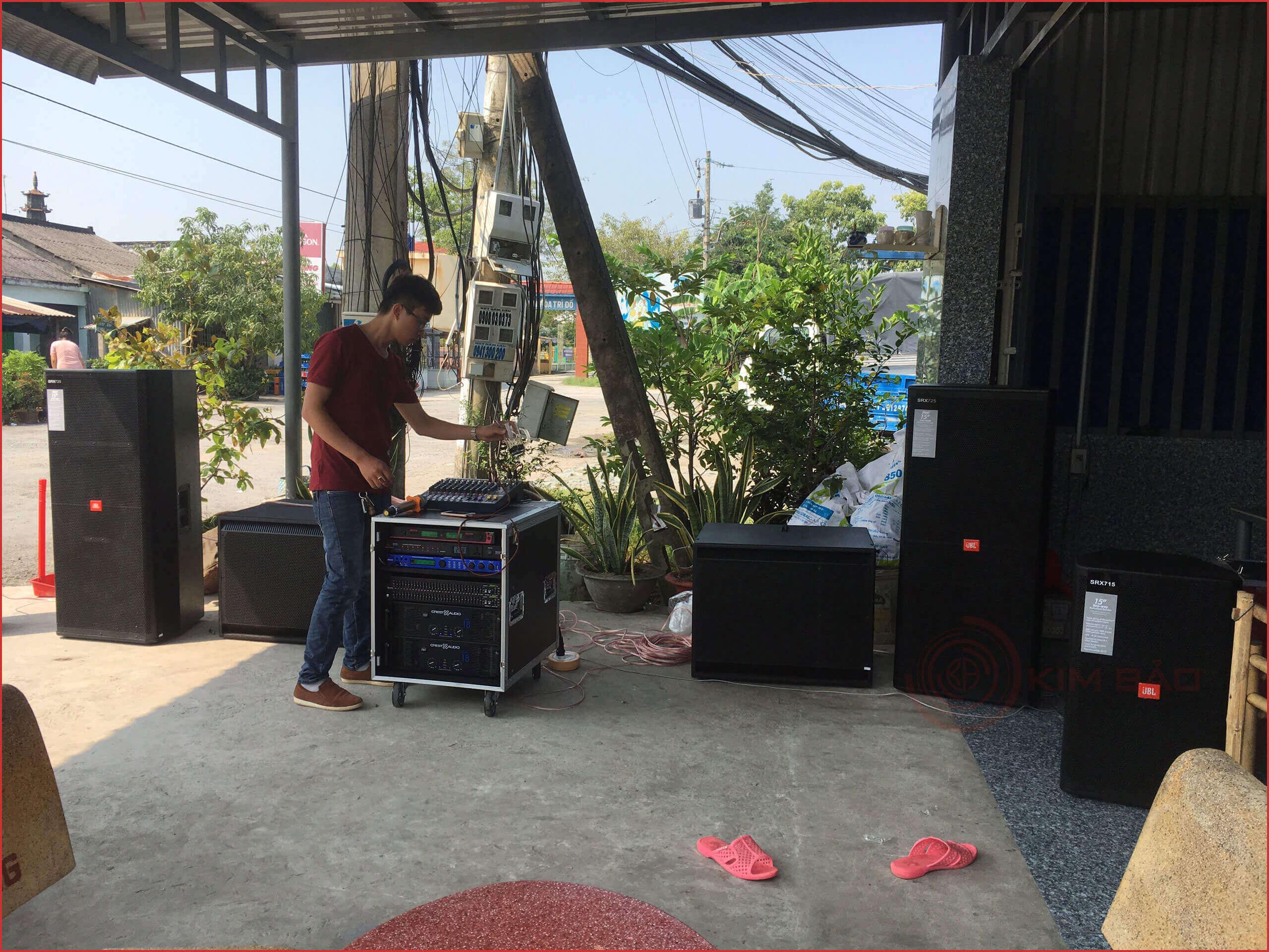 Công trình dàn nhạc đám cưới-Tiền-Giang