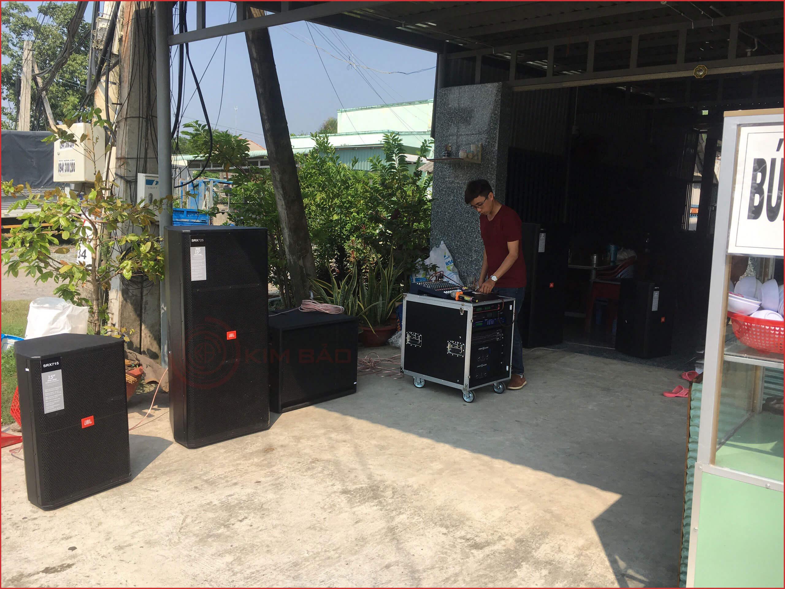 Công trình dàn nhạc sống Tiền Giang
