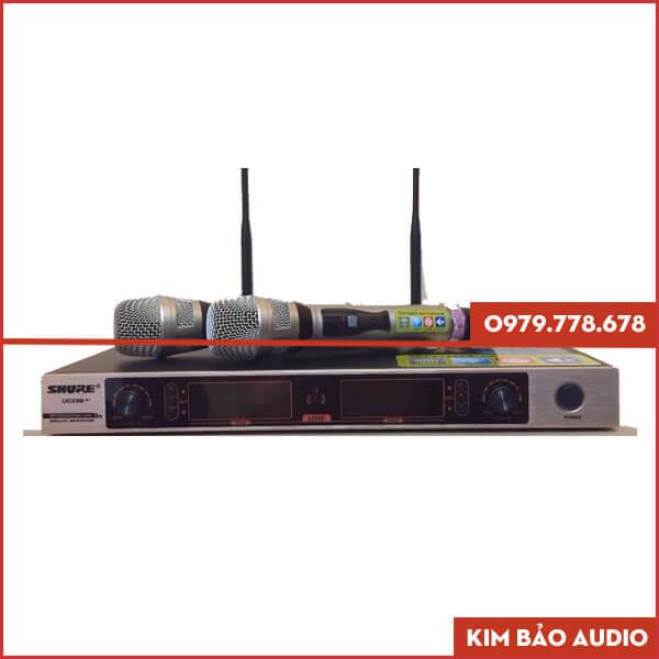Micro không dây Shure UGX9III A+ Mặt trước