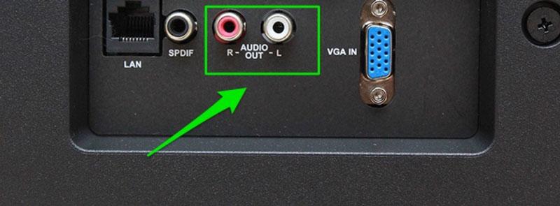 Kết nối Amply với Smart TV qua Jack AV