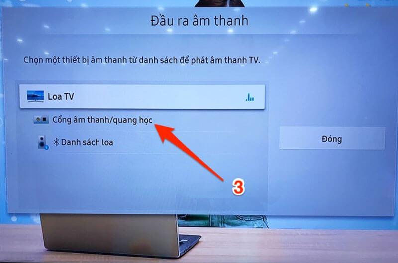 Cách kết nối âm thanh tivi với Amply
