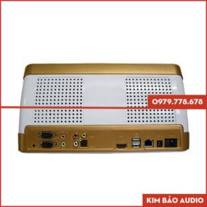 Đầu Karaoke liền màn hình BTE V650 Mặt sau