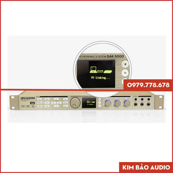 Vang số Partyhouse DAK 5000 kết nối PC