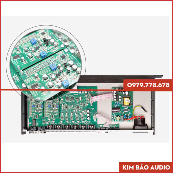 Vang số Partyhouse DAK 3000 Chip xử lý