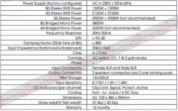 Thông số Cục đẩy Korah KA 27S