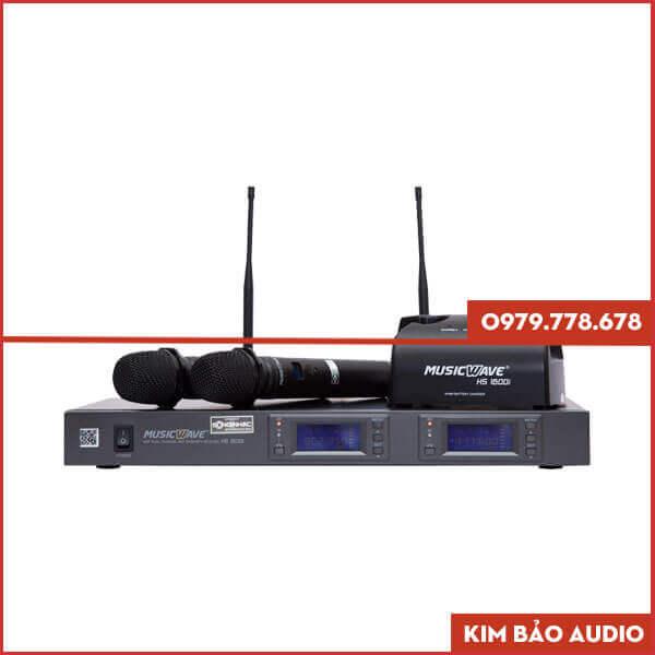 Micro không dây Music Wave HS 1600i New