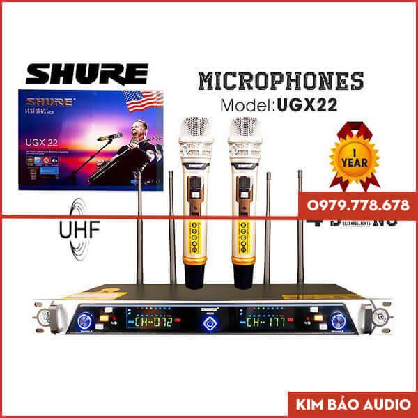 Micro không dây Shure UGX22