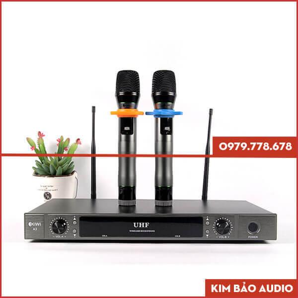 Micro Karaoke không dây Kiwi A3