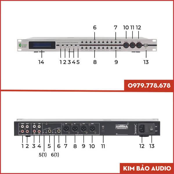 Vang số chỉnh cơ Kiwi KB 9000 (Thông số)