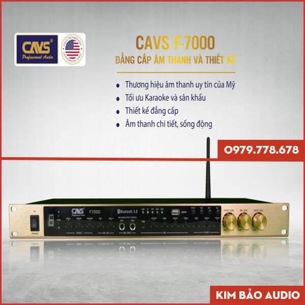 Vang cơ CAVS F7000