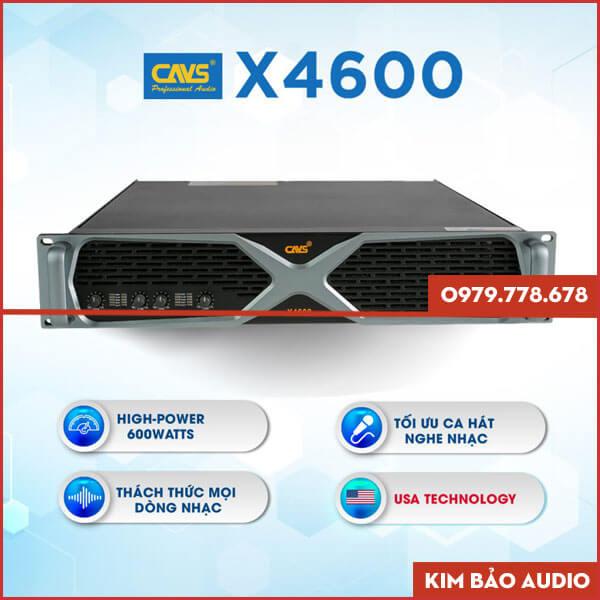 Cục đẩy công suất CAVS X4600 Giá Tốt
