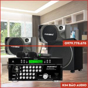 Bộ dàn Karaoke gia đình Paramax PR01