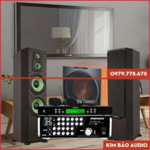 Bộ dàn Karaoke gia đình Paramax PR02