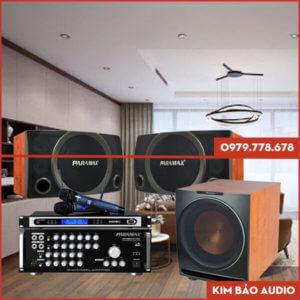 Bộ dàn Karaoke gia đình Paramax PR03