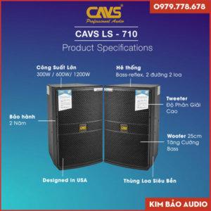 Loa Full CAVS LS 710 (Thông số)