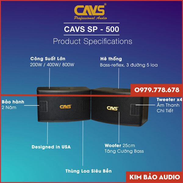 Loa CAVS SP-500