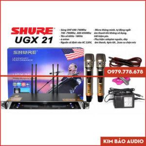 Micro Karaoke không dây Shure UGX21