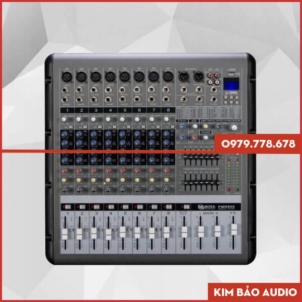 Mixer liền công suất Bosa PMR860