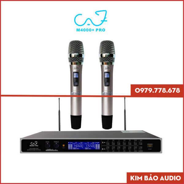 Micro không dây CAF M4000+Pro