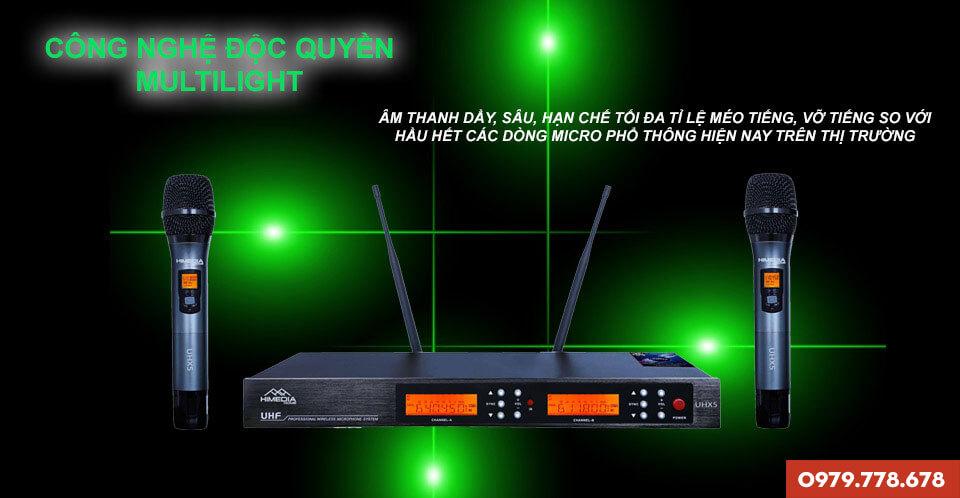 Micro Karaoke không dây Himedia UHX5
