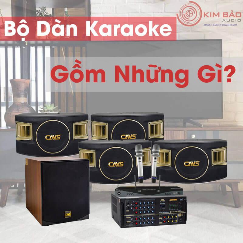 Bộ dàn Karaoke gia đình chuẩn gồm những gì