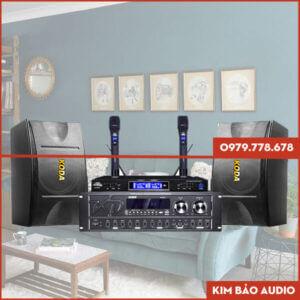 Bộ dàn Karaoke gia đình KD01