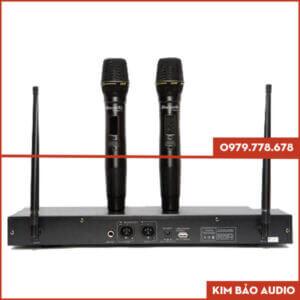 Micro Karaoke DBaucoustic DB500C Mặt sau