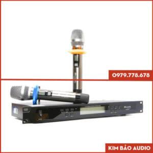 Micro Karaoke dBacoustic DB 550 Plus Tổng quan
