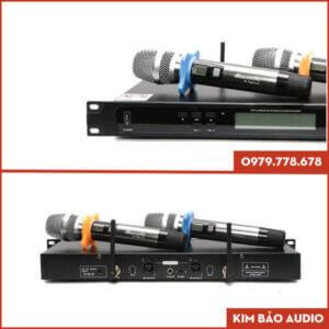 Micro Karaoke dBacoustic DB 550 Plus Mặt sau