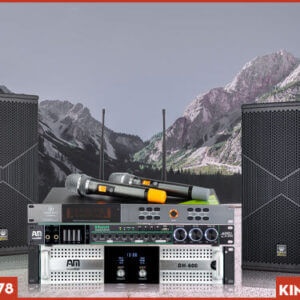 Main công suất AM DH600 Kết hợp bộ dàn Karaoke