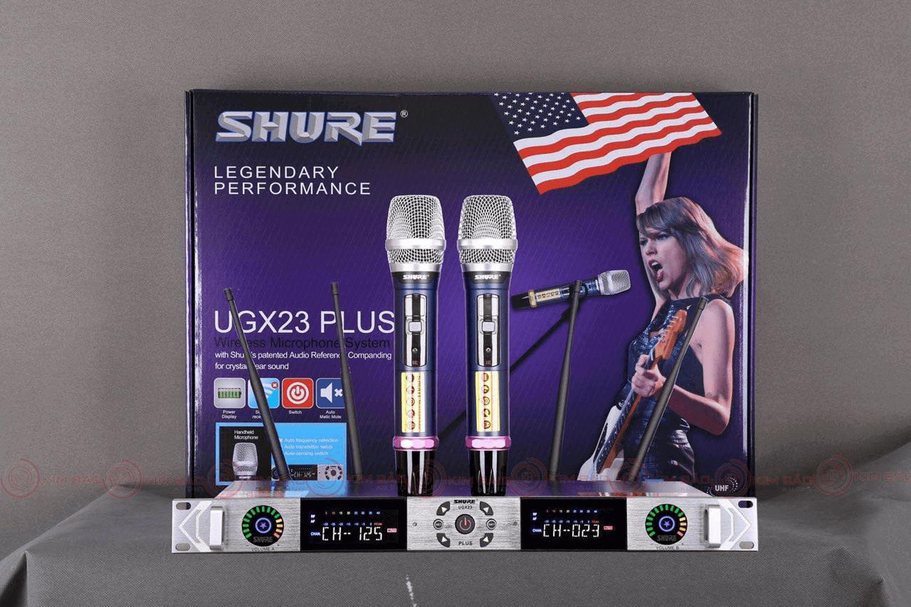 Micro không dây Shure UGX23 Plus